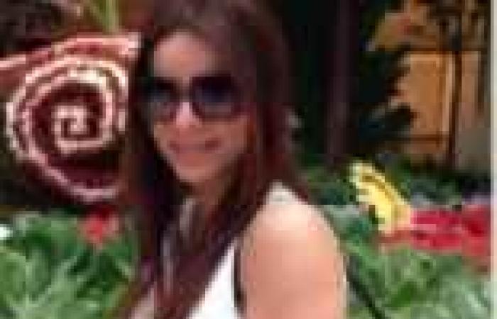 بالصور  فريال يوسف تحرص على قضاء عطلتها في هوليوود