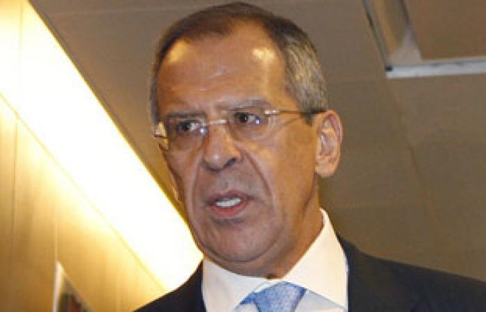 لافروف: روسيا تثبت سيطرة المسلحين على تخزين الكيماوى بسوريا