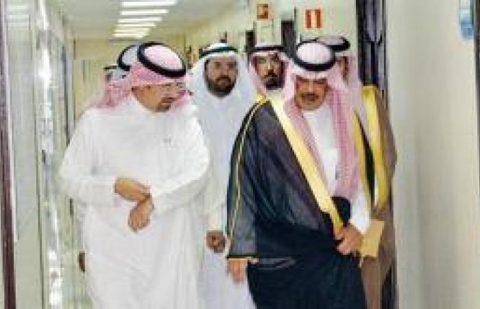 أمير الباحة يلتقي وكلاء وزارة الصحة