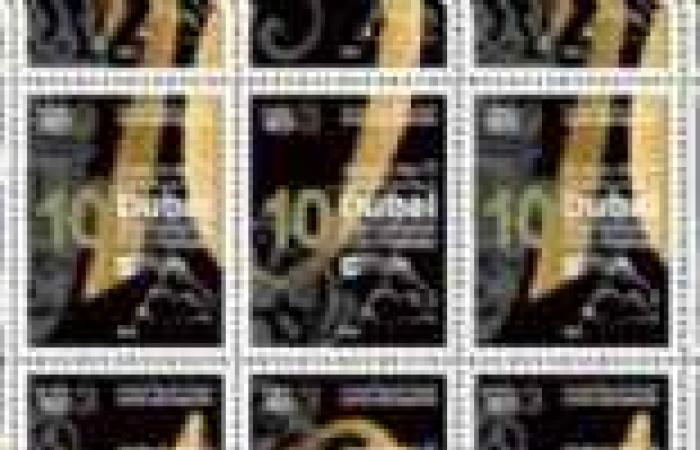 """طوابع بريد تذكارية بمناسبة مرور 10 أعوام على """"دبي السينمائي"""""""