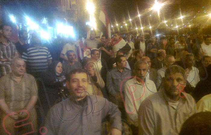بالصور.. الآلاف يحتفلون بأعياد أكتوبر بدسوق