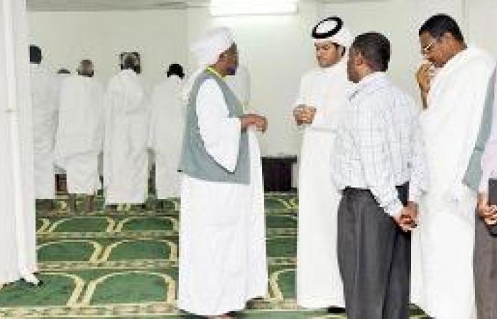 مصليات في إسكان ضيوف الرحمن للحد من زحام الحرم