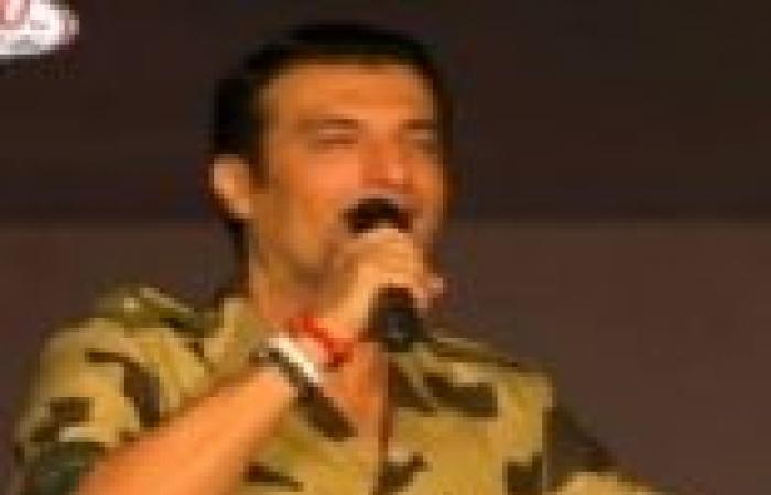 """إصابة الفنان إيهاب توفيق بوعكة صحية بعد أوبريت """"أم الدنيا أد الدنيا"""""""
