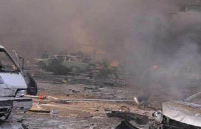 ارتفاع حصيلة تفجير انتحارى شمال العراق لـ65 قتيلا وجريحا
