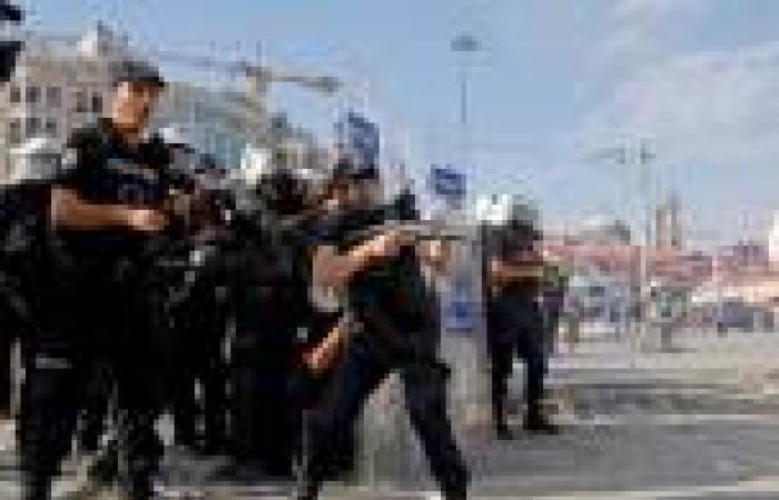 الشرطة التركية تفرّق مظاهرة طلابية قرب حرم جامعي في أنقرة