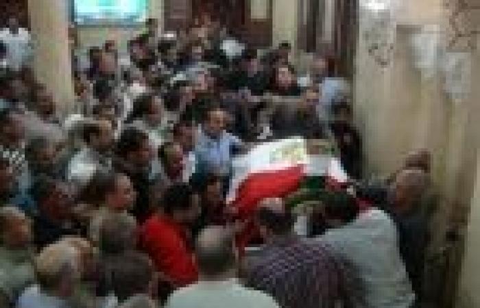 جنازة عسكرية لشهيد الشرطة بشمال سيناء.. والأهالى يطالبون بـ«القصاص»