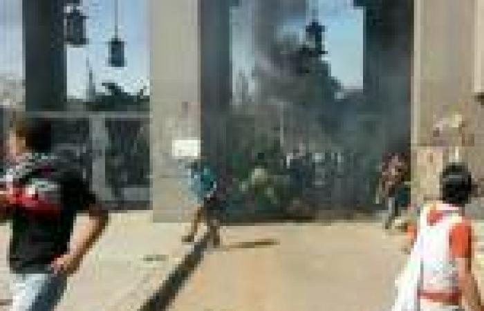 «الداخلية» تنفي اقتحام الأمن لجامعة الأزهر.. وتُهيب بالطلاب عدم تعطيل المرافق