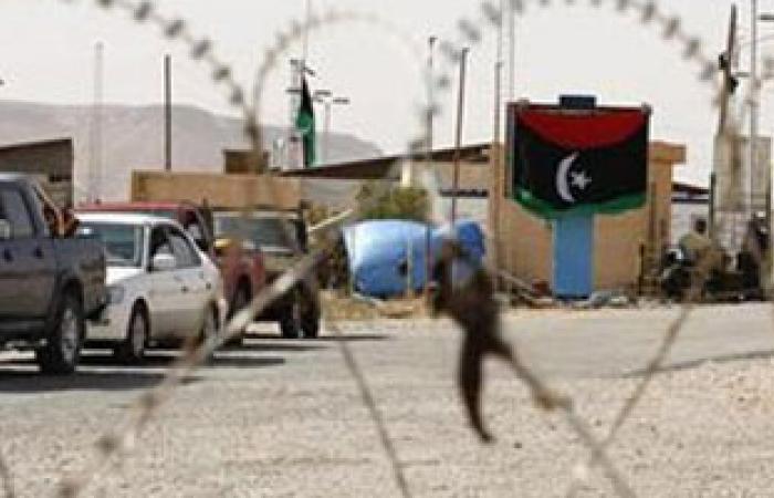 توقيف 51 مهاجرا غير شرعى بمدينة الأبيار ببنغازى الليبية