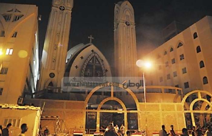 """راعي كنيسة العذراء الأثرية بمسطرد: الحراسات على الكنائس """"خيال مآتة"""""""