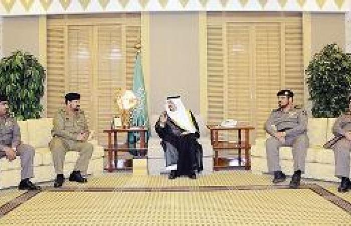 أمير القصيم يلتقي مساعد مدير الأمن العام