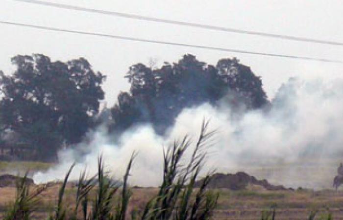 """""""البيئة"""" تتوقع ارتفاع السحب الدخانية بسبب كثافة حرق المخلفات بالدلتا"""