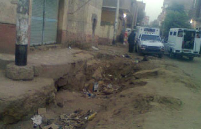 """أهالى البيارة بكوم أمبو يطالبون محافظ أسوان بردم """"بلاعات الصرف"""""""