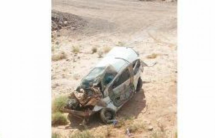 حادث مروع يصيب مدير صناعي المهد وأسرته ويقتل ابنه وقريبه