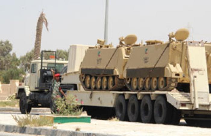 عودة حركة السير فى منطقة حادث التفجير على طريق الشيخ زويد العريش