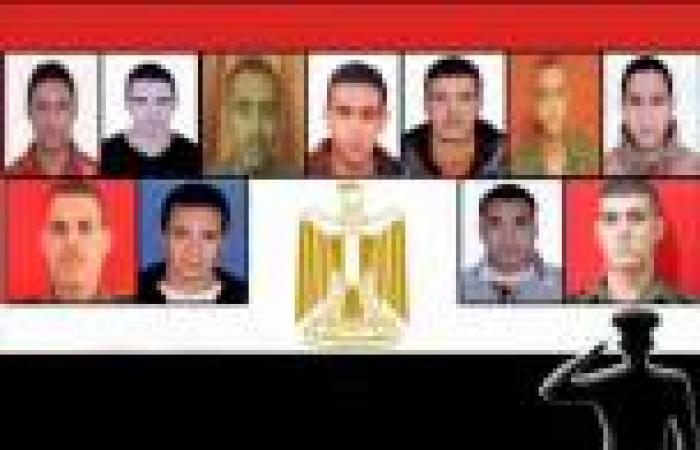 الآلاف يشيعون جثمان المجند شهيد تفجير سيناء بقرية «سنتماي» بالدقهلية