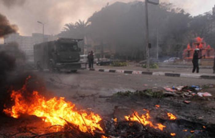 اشتباكات بين الأهالى والإخوان فى دمياط.. والأمن يفرقهم بقنابل الغاز