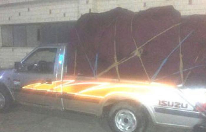 إحباط محاولة تهريب 14 طن ملابس مستوردة ببورسعيد