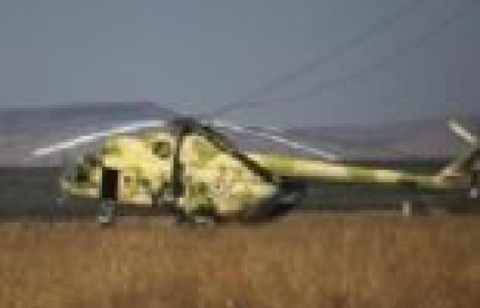 هليكوبتر عسكرية بريطانية تهبط اضطراريا في الضفة الغربية