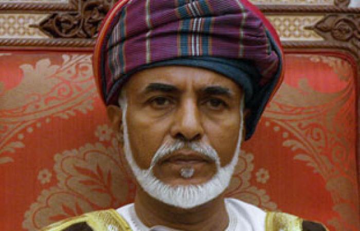 السلطان قابوس يستقبل وزير الخارجية البريطانى