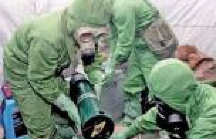 تأخر نقل الأسلحة الكيماوية السورية بسبب مشاكل تقنية