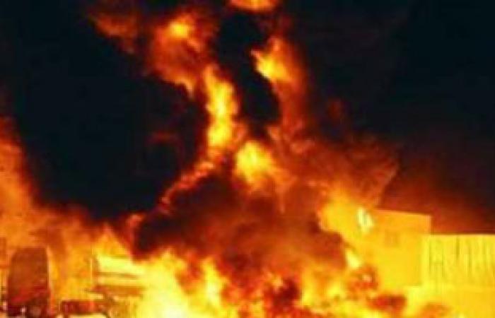 السيطرة على حريقين بمزرعة دواجن وأرض فضاء بالقليوبية