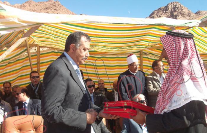 بالصور.. وزراء وفنانون يشاركون فى احتفالية القديسة كاترين بجنوب سيناء