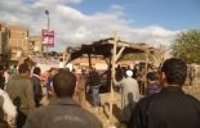 بالصور| حملة إزالة إشغالات موسعة في قليوب