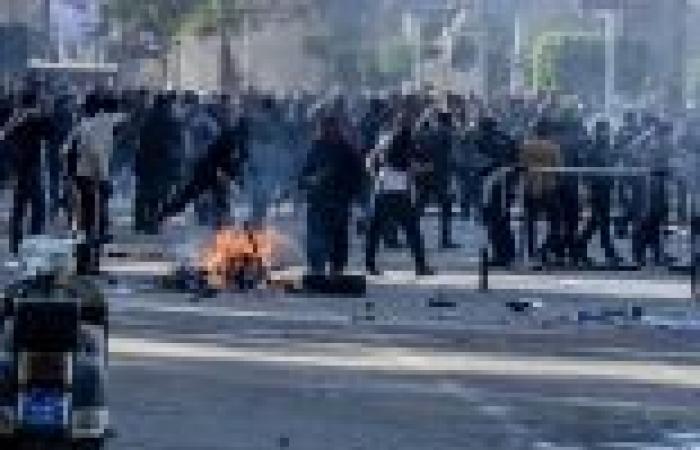 فرار مظاهرة مسجد المراغي إلى منطقة عرب غنيم