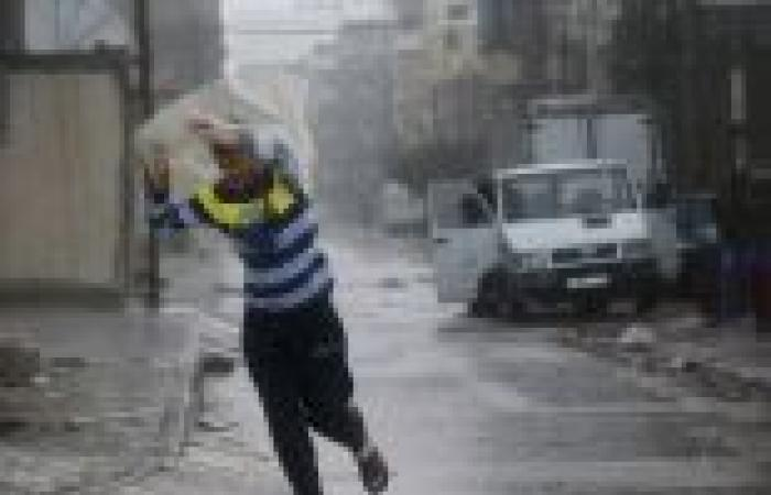 بالصور| عاصفة ثلجية نادرة تغطي منطقة القدس