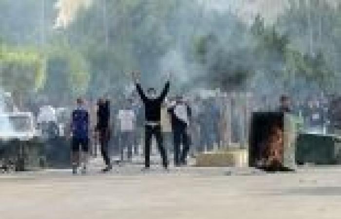 ضبط 17 من مثيري الشغب على خلفية فض مسيرة لأنصار مرسي بالمنيا