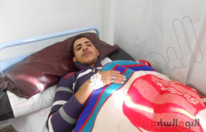"""التيار الشعبى بالإسماعيلية يزور مصابى حادث تفجير """"الأمن المركزى"""""""