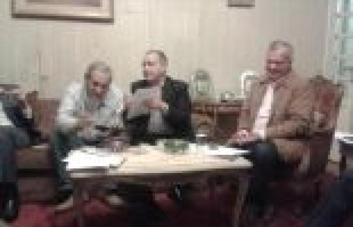 """""""الوطن"""" تنشر صور الاجتماع السري بين 6 أحزاب لتشكيل ائتلاف انتخابي"""