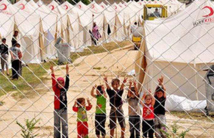 افتتاح مخيم جديد للاجئين السوريين فى شمال لبنان