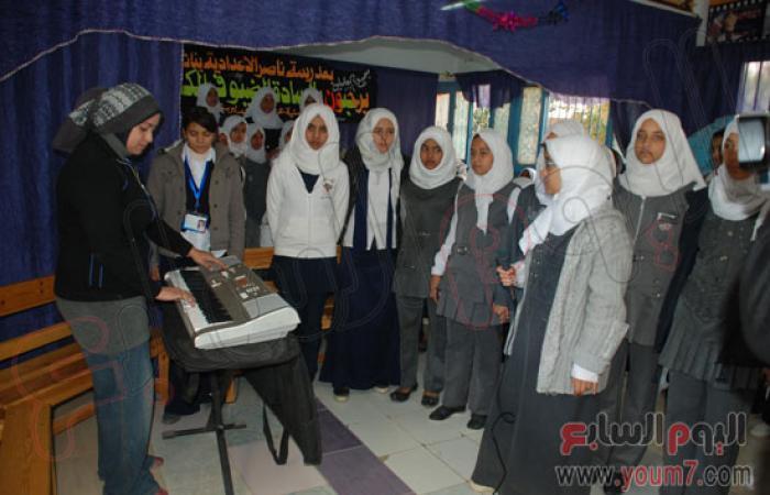 بالصور.. محافظ سوهاج يشيد بمدرسة ناصر الإعدادية بنات