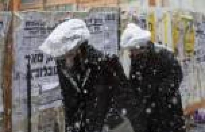 خبراء اقتصاديون: 285 مليون دولار خسائر إسرائيل الأولية جراء المنخفض الجوي