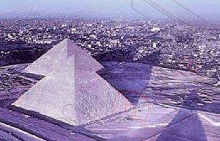 """""""الآثار"""": ظهور الأهرامات وأبو الهول مكسيان بالثلوج """"فوتوشوب"""""""
