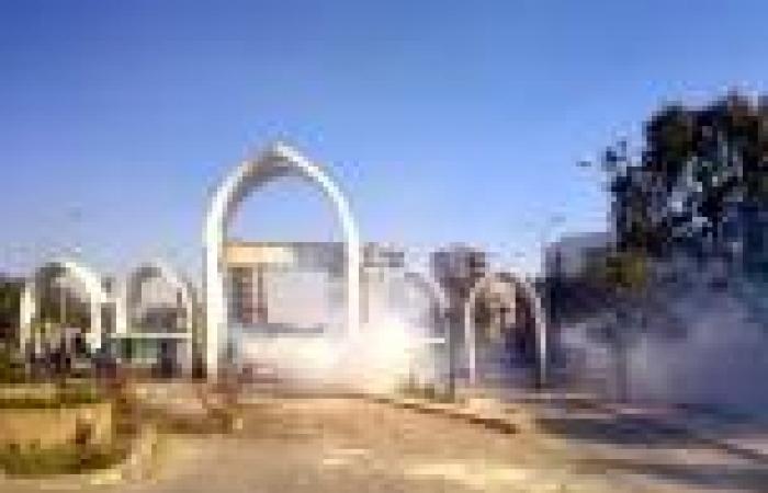 القبض على 8 طلاب «إخوان» بجامعة المنيا بعد تعديهم على قوات الأمن