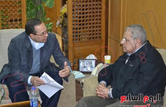بالصور.. وزير الإسكان يزور الإسماعيلية لمتابعة مشروعات المياه والصرف
