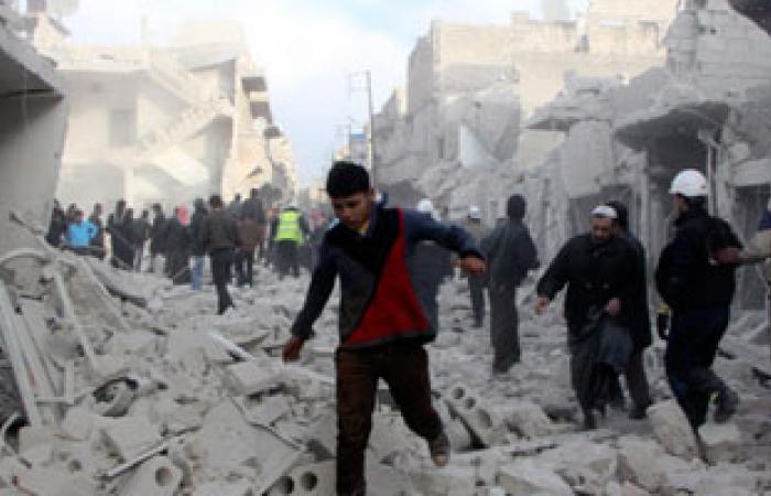 اشتباكات عنيفة فى درعا وعدة أحياء بحمص بين قوات الأسد والمعارضة