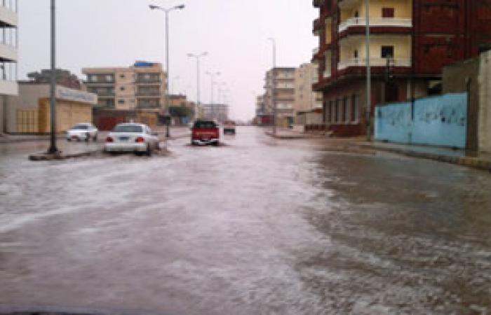 أمطار ثلجية شمال كفر الشيخ.. وإغلاق بوغاز البرلس وميناء الصيد