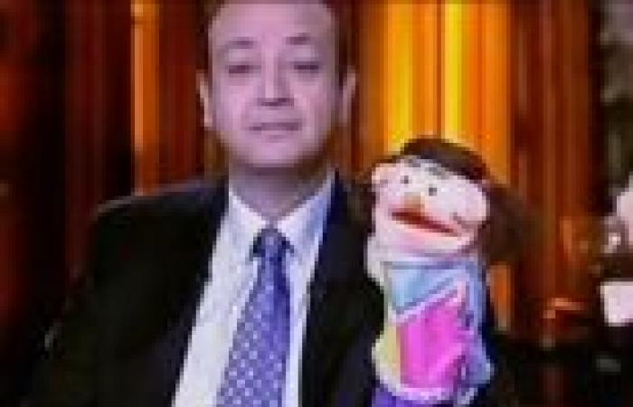 """عمرو أديب و""""شردي"""" يقلدان """"أبلة فاهيتا"""".. ويستنكران اهتمام الإعلام بقضيتها"""