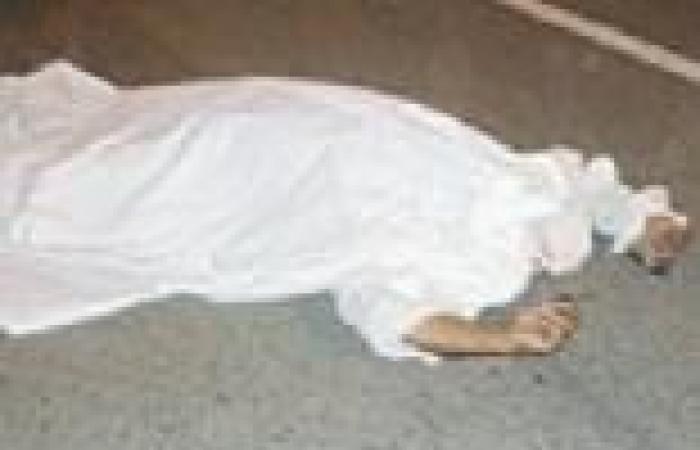 أشلاء جثة تسقط من السماء في جدة