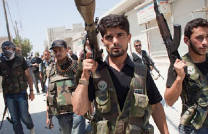 """الجيش الحر يحاصر مقر """"داعش"""" فى الرقة واتفاق لوقف القتال بدمشق"""