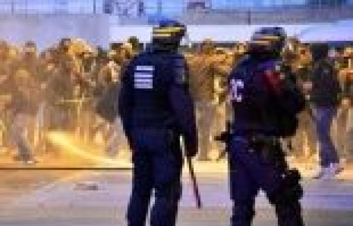 """""""الخارجية"""": قوات مكافحة الشغب الفرنسية فضت اعتصام للإخوان بالقنصلية"""