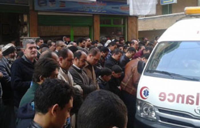 دفن جثمان ريس المركب المقتول على يد خفر السواحل التونسية ببرج مغيزل