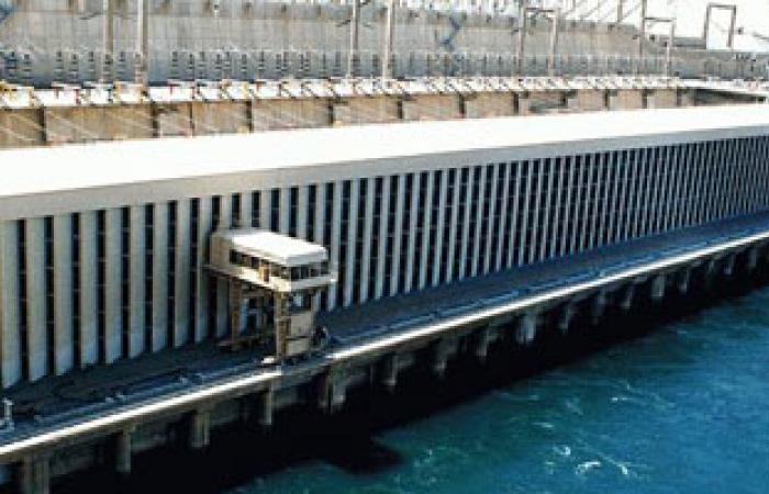 منسوب النيل أمام السد العالى يحافظ على ثباته عند 175.96 متر مكعب