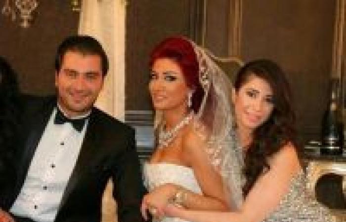 بالصّور: هبة نور عروس.. والعريس ابن وزير!