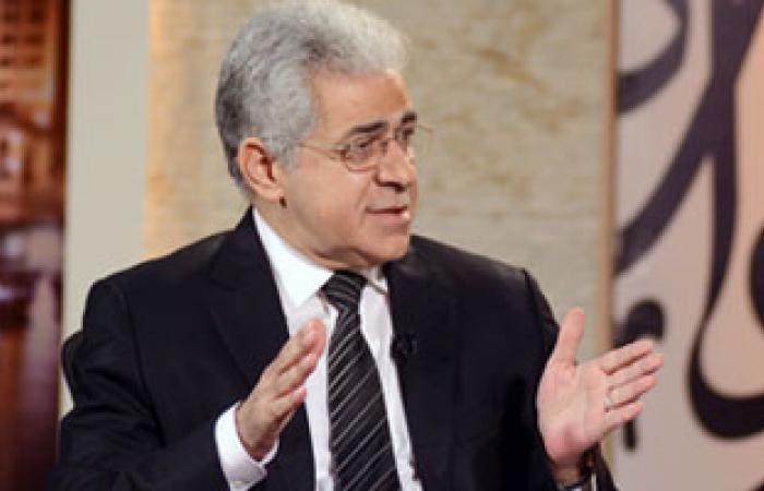"""حمدين صباحى: من حق مصر تغيير الاتفاقيات للحفاظ على """"مياه النيل"""""""