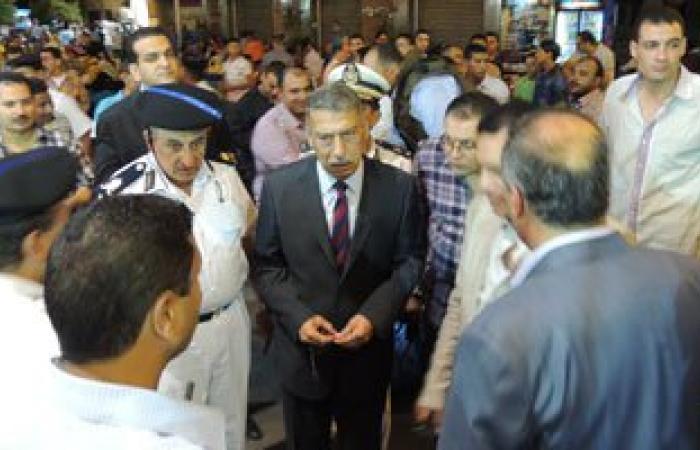 """مدير أمن القاهرة يفاجئ الخدمات الأمنية بـ""""رابعة"""" و""""التحرير"""""""