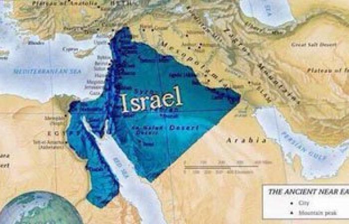 """إسرائيليون يتداولون خريطة """"مملكة داود""""تضم أجزاءً من مصر والسعودية"""